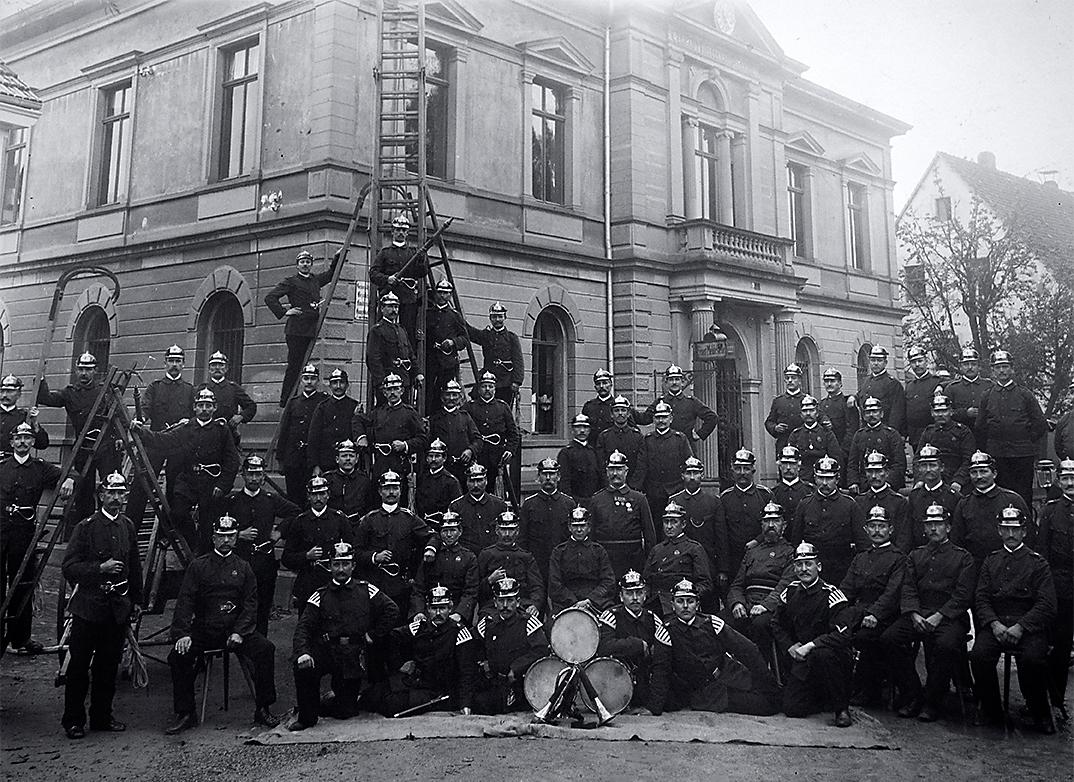 Freiwillige Feuerwehr 5. Companie 1906