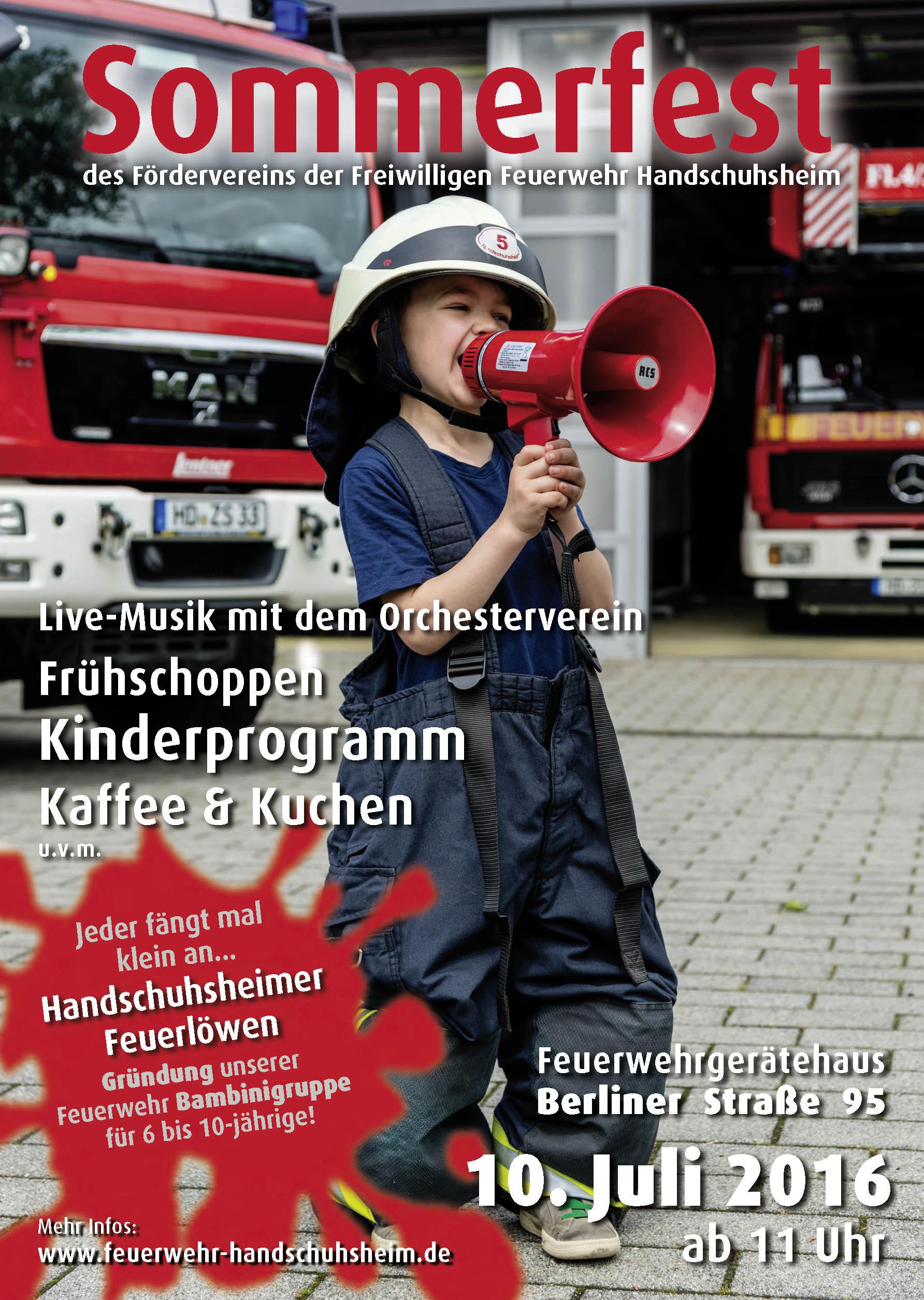 Plakat Sommerfest 2016